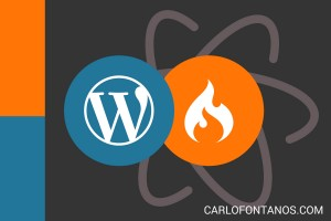 WordPress-based Template for Codeigniter