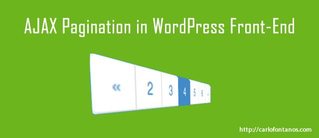 ajax-pagination-wordpress-front-end