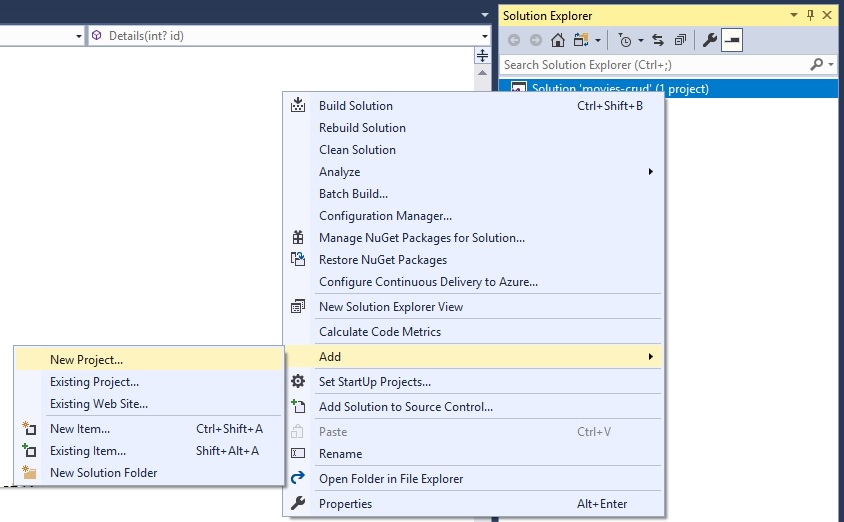 Consuming WCF in ASP NET MVC 5 with Entity Framework 6 using Visual